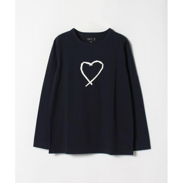 アニエスベー SAE0 TS サラエボハートTシャツ レディース ネイビー 2 【agnes b.】