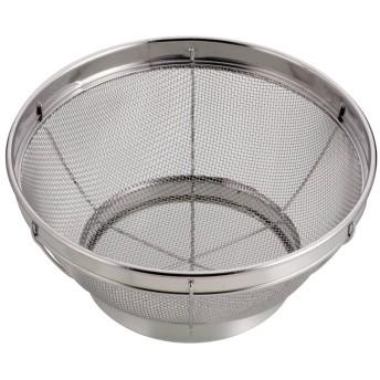 パール金属 アクアスプラッシュ ステンレス製 キッチン ザル 19cm H-9262