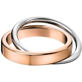 Vi.yo リング 指輪 メンズ レディース 二環系 ファッション ステンレス アクセサリー 14号