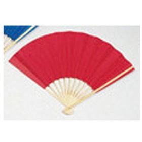(業務用20セット) ゴークラ カラー扇子 赤 ds-1913899