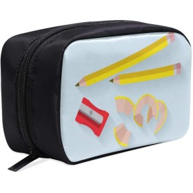 LKCDNG メイクポーチ ペン ボックス コスメ収納 化粧品収納ケース 大容量 収納 化粧品入れ 化粧バッグ 旅行用 メイクブラシバッグ 化粧箱 持ち運び便利 プロ用