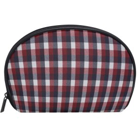 化粧ポーチ 化粧ポッチ 格子 バニティーポーチ 化粧袋 収納バッグ トイレタリーバ 旅行出張用 洗面用具 小物入れ