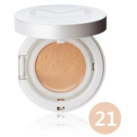 [1+1] MACQUEEN Mineral CC Cushion Cover plus [Cushion + Refill] No.21+ / マックイーン ミネラルCCクッションカバープラス No.21+ [本品+リフィル] [並行輸入品]