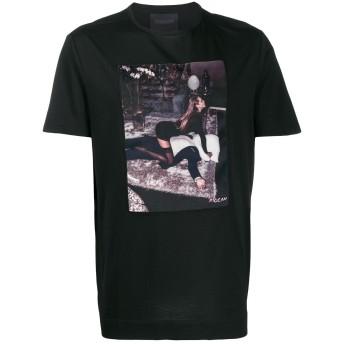 Limitato Woman プリント Tシャツ - ブラック