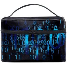 データ配信コスメポーチ 化粧収納バッグ レディース 携帯便利 旅行 誕生日 プレゼント