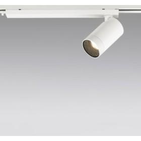 ODELIC LEDスポットライト 配線ダクトレール用 JR12V50W相当 オフホワイト 16° 電球色 2700K  専用調光器対応 XS613109HC
