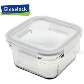超強化耐熱ガラスオーブンウェア [ガラス密閉容器] グラスロック スクエア 中 440ml