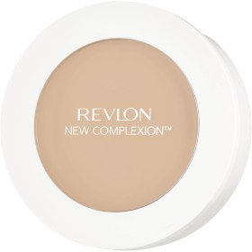(03 Sand Beige) - Revlon New Complexion One-Step Compact Makeup - 03 Sand Beige
