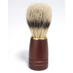 Kingsley Bristle Shave Brush Dark Wood Handle (並行輸入品)