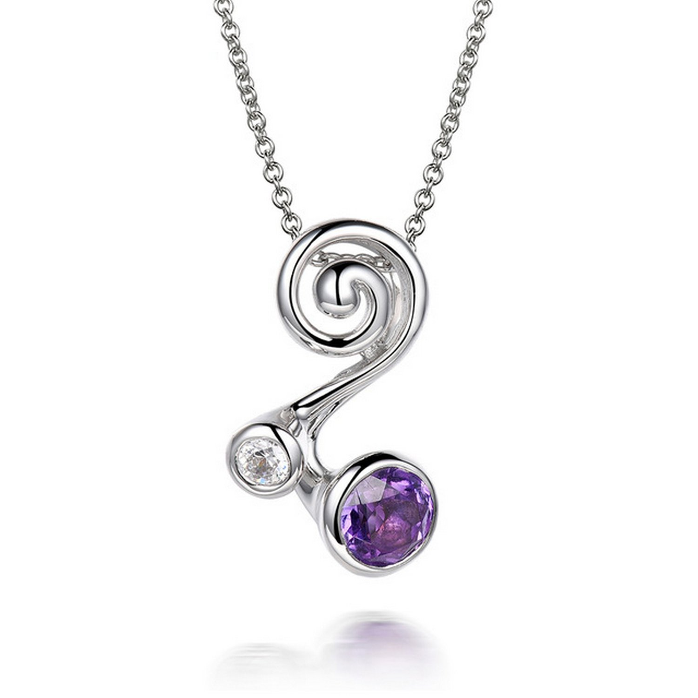 MMC Gift Engagement Silver Pendants Necklaces