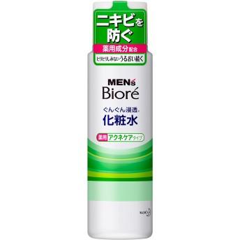 メンズビオレ 浸透化粧水 薬用アクネケアタイプ 180ml
