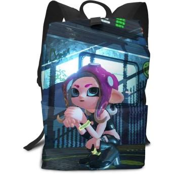 バッグ 鞄 リュック スプラトゥーン 2 Splatoon 2 バックパック リュックサック 背負う 双肩バッグ スクエアリュック