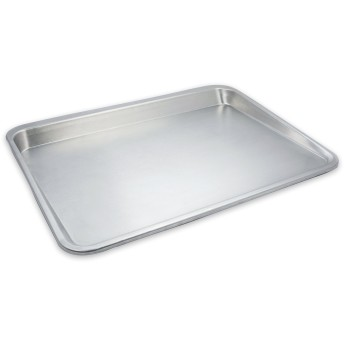 USA Pan 10305LC-BB-1 Easy Slide Non Stick Cookie Sheet Pan, Aluminium