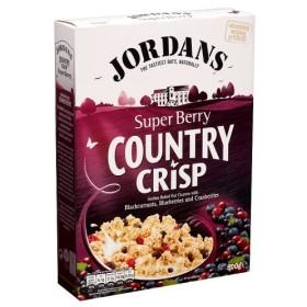 Jordans Country Crisp Super Berry (500g) ジョーダン国さわやかなスーパーベリー( 500グラム)