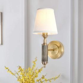 LEDウォールランプ、現代人格ガラスランプシェード付き木製ウォールライト/ミラーランプ、寝室バルコニー階段通路クリエイティブ装飾的な壁の壁