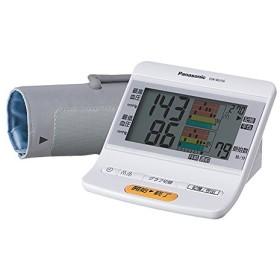 パナソニック 上腕血圧計 メモリ機能付(250回×2人分) ホワイト EW-BU56-W