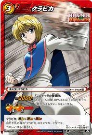 Hunter X Hunter Miracle Battle Carddass HH03-26 R