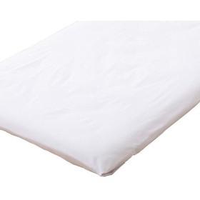 エムール 日本製 綿100% 敷きカバー シングル/シングルロング 「プレッソ」 ホワイト