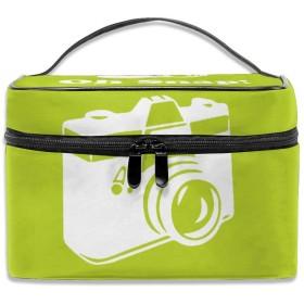 カメラ 化粧ポーチ メイクポーチ コスメバッグ 収納 雑貨大容量 小物入れ 旅行用