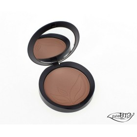 PUROBIO COSMETICS - Bronzer Resplendent Matt 05 - Warm Brown - Compact powder for a radiant and tanned complexion - Light and velvety - Vegan - Nickel tested - Organic - 9 gr