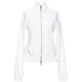 《セール開催中》DONDUP レディース スウェットシャツ ホワイト S コットン 100% / ポリウレタン