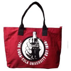 コカコーラ トートバッグ (レッド) アメリカン雑貨 コカ・コーラ トート バッグ Coca-Cola Coke コーラ グッズ アメリカ 雑貨 バッグ