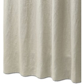 リネン・コットンリネンカーテン 幅100x丈200cm リネンベージュ 1枚[■] 10柄 日本製 天然素材