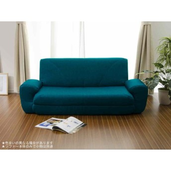 【日本製】 Sofa Bed COLICO ソファベッド A19 タスクターコイズブルー