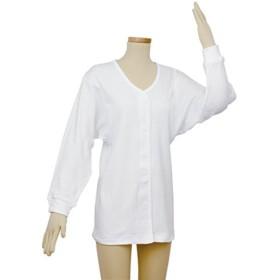 (まとめ)幸和製作所 肌着 テイコブワンタッチ肌着長袖 婦人用 M UN06W-M【×2セット】