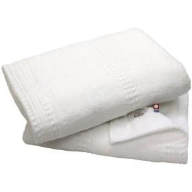 hiorie(ヒオリエ) 今治タオル 認定 Earth アース バスタオル 2枚セット オフホワイト 日本製 高密度織り 今治ブランド