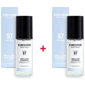 W.DRESSROOM Dress & Living Clear Perfume 70ml (No 97 April Cotton)+(No 97 April Cotton)