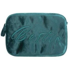 化粧品袋、ポータブルウォッシュバッグ、ポータブル大容量の女の子のギフト、ベルベット化粧品バッグ収納袋 (Color : ピンク)