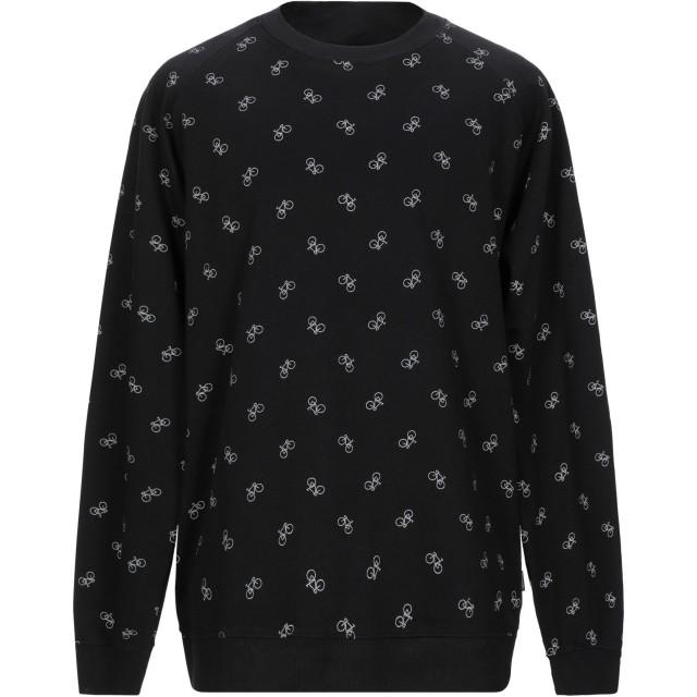 《期間限定セール開催中!》DEDICATED. メンズ スウェットシャツ ブラック XL コットン 100%