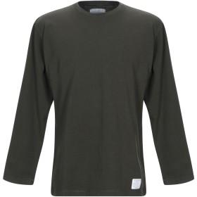 《期間限定セール開催中!》GALLE Paris メンズ T シャツ ミリタリーグリーン S コットン 100%