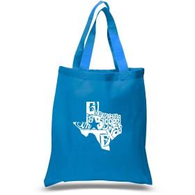 小さなWordアートトートバッグ–Everything Is Bigger In Texas–BlackSmall S