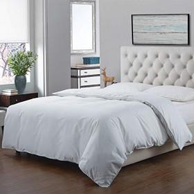 布団カバー セミダブル 170×210cm 綿 100% 掛けふとん用 夏涼しい 冬暖かい 掛けふとん用 肌掛けふとんカバー 無地 ホワイト