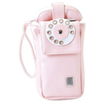 セトクラフト 携帯ケース ピンク 個装サイズ:4×13×24cm
