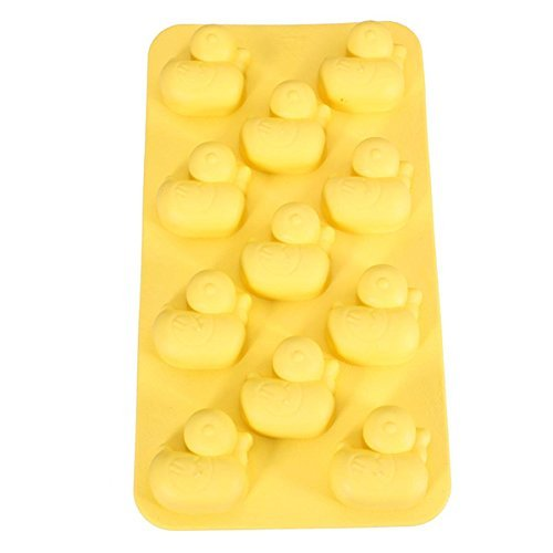 Penguins Ice Cube Chocolate Soap Tray Mold Silicone Party maker by BargainRollBack Ships From USA