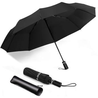 折畳み傘 晴雨兼用 手動開閉 おりたたみ傘 丈夫な10本骨