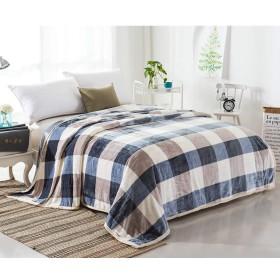 WCH 寝具毛布、寝室の寮のオフィスのためのフランネルのエアコンカバーシート毛布 (Color : I, サイズ : 150x220cm(59x87inch))