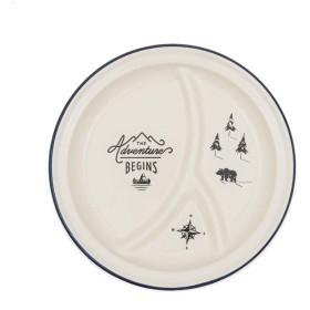 Wild & Wolf 大皿 ホワイト 直径27.3cm GENTLEMAN'S HARDWARE 928615307