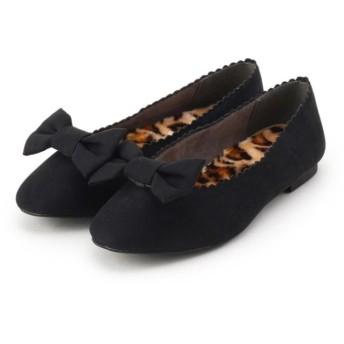 クチュールブローチ 2WAYフラットシューズ レディース ブラック(019) 30(23.0cm) 【Couture Brooch】