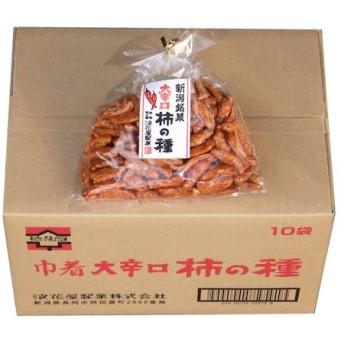 大辛口柿の種 巾着(1ケース) 140g×10袋