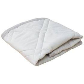 接触冷感 枕パッド 防ダニ 抗菌防臭「CLEAN COOL」【GL】サイズ:約35×50cm グレー(#9830161)