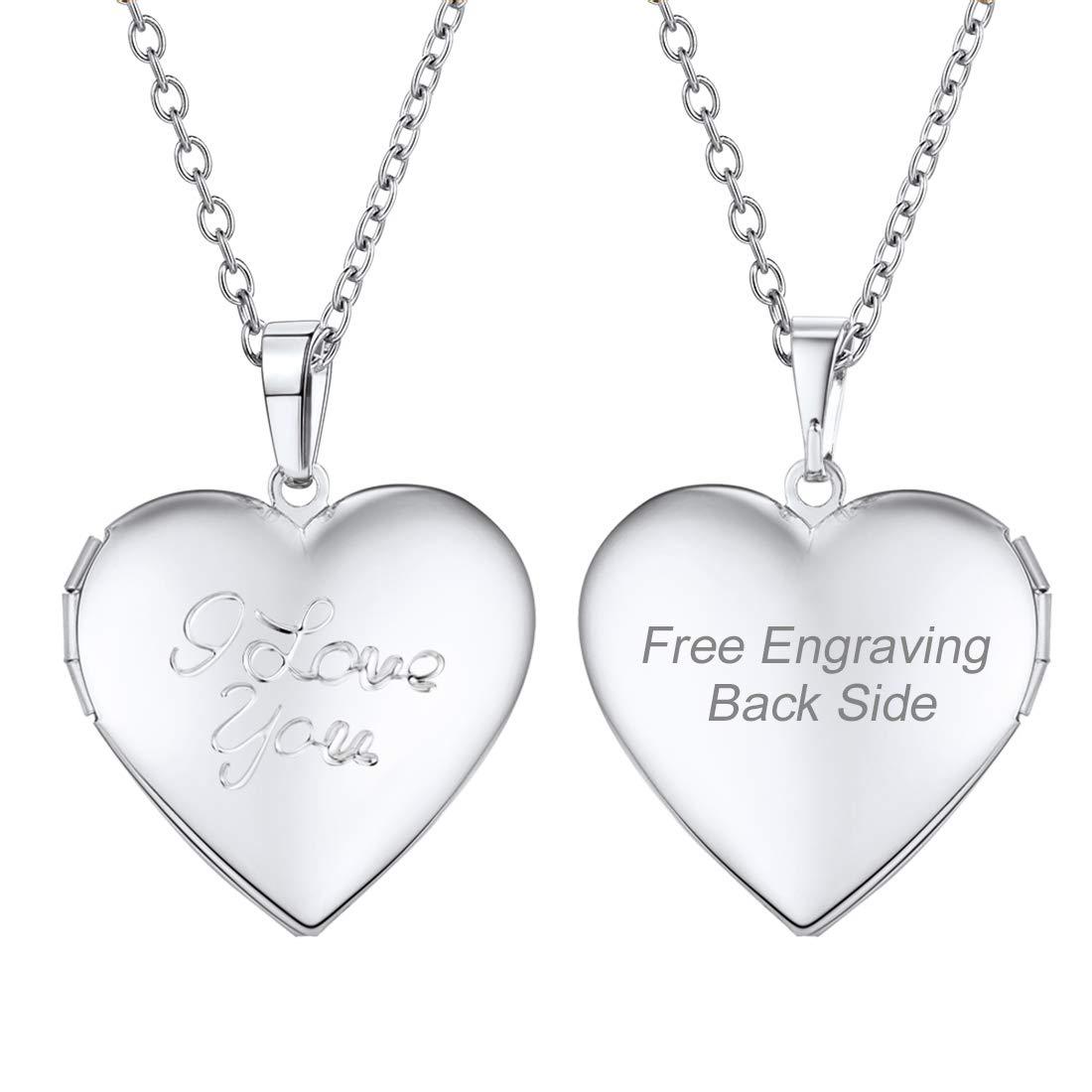 DiamondJewelryNY Sterling Silver Heart//Guardian Angel Pendant