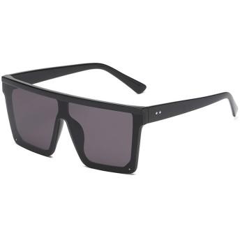 サングラスユニセックス ファッション パンクスタイルの レトロ なメガネフレームメガネ 偏光 紫外線防止 UV400カット 旅行用 外出用 かわいい 女性向け 統合 キャンディーカラーメガネ (E)