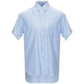 《期間限定セール開催中!》COMME des GARONS SHIRT メンズ シャツ アジュールブルー S キュプラ 100%