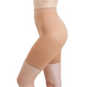日本製 極薄骨盤引締めパンツ ショート 2カラー 3サイズ (M, ベージュ)