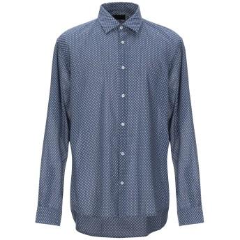 《期間限定セール開催中!》ALTEA メンズ シャツ ブルーグレー 44 コットン 100%