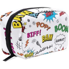 Boom 化粧ポーチ メイクポーチ 機能的 大容量 化粧品収納 小物入れ 普段使い 出張 旅行 メイク ブラシ バッグ 化粧バッグ